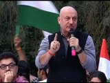 Anupam Kher's FULL SPEECH in JNU: Bhagat Singh is our hero and not those who protest against India