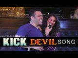 Salman Khan, Nargis Fakhri And Sajid Nadiadwala Attend 'Devil' Song Launch From 'Kick'