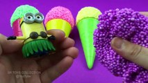 Foam Clay Ice Cream Surprise Toys Tom and Jerry Minions
