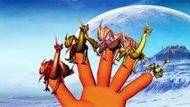 Finger Family Rhymes Elephant Sharks Cartoons | Dragons Finger Family Children Nursery Rhymes