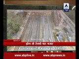 Indian Railways go Hi-Tech, use drone for monitoring track laying process