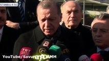 Erdoğan, Cuma Çıkışı Önemli Açıklamalar.