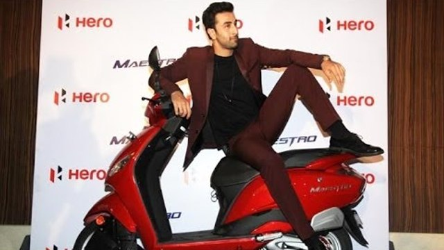 Ranbir Kapoor Becomes The Brand Ambassador Of Hero MotoCorp