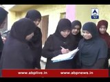 Triple talaq row: Women support signature campaign in Osmanabad