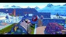 Frozen Elsa Kidnapped by VENOM ! Spiderman saves Disney Snow Queen From Jail + McQueen Monster Truck