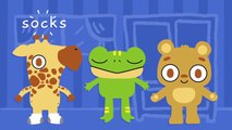Lets Get Dressed Song for Children | Clothes Song for Kids | Everybody Put Your Socks On