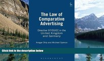 Online Michael Spence The Law of Comparative Advertising: Directive 97/55/EC in the United Kingdom