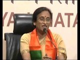 Former UP Congress chief Rita Bahuguna Joshi joins BJP, lauds PM Modi for surgical strikes