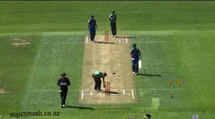 Most runs scored in T20 match in New Zealand