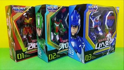 Beast Guardian transformers Toys 지오메카 비스트가디언 장난감 3종 레오칸 카이만 나스혼 동물 변신로봇
