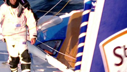 22 déc. Pétole et dauphins à bord de StMichel-Virbac