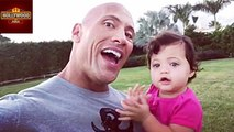 Dwayne Johnson (The Rock) Sings To Daughter Jasmine On Her First Birthday | Hollywood Asia