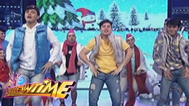 """It's Showtime: Ronnie, Tom, & Paulo's """"Ang Kulit"""" performance"""