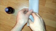 Ouvrir une bière avec une feuille de papier !