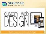 Custom web design services | best website designing | seoczar