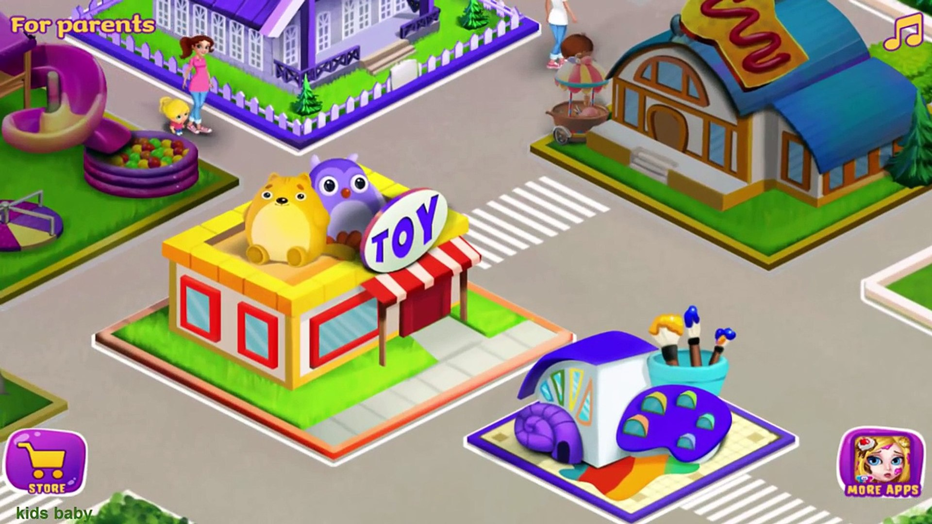 Baby Activities Kids Games BabySitter Madness by Tabtale