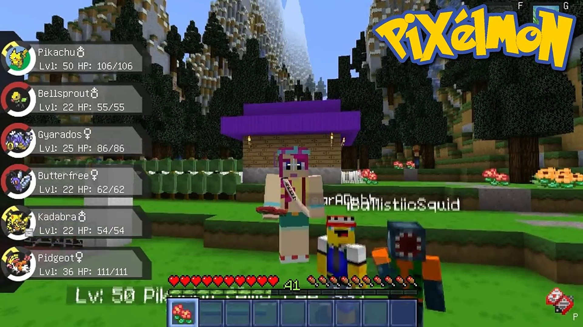 4 Fun Glitches In Minecraft!