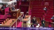 Lecture définitive du projet de loi Egalité et Citoyenneté : allocution d'Emmanuelle Cosse