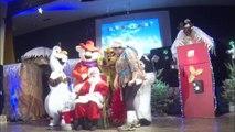 CSE Les Pel'tiots Peltre spectacle de Noël 2016  le Père Noël
