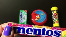 Angry Birds Chewing Gum Mentos Gum Pure Mentos Mints Fruit Candy M&Ms chocolate