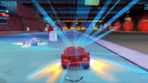 CARS 2 - Course de voitures avec Flash McQueen dans le jeu tiré du film CARS 2