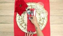 Astuces très faciles pour plier vos serviettes de Noël