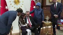 TWEETING SEVEN-YEAR-OLD ALEPPO GIRL BANA ALABED MEETS PRESIDENT ERDOGAN