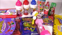 Candy Bonanza 5! RingPop Gummies CHARMS Baby Bottle POP Bean Boozled Warheads! Sweets Review