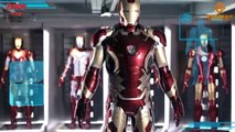 Iron Man - une incroyable figurine Marvel avec 567 parties qui bougent !!!