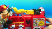 Fire Trucks and Fire Engines with Tonka Boomer - Camion de Bomberos - Trucks for