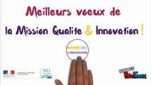Voeux de la Mission Qualité et Innovation 2017