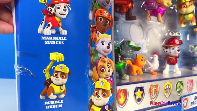 PAW PATROL LIMITED EDITION METALLIC SERIES ACTION PACK PUPS CHASE MARSHALL RUBBLE SKYE EVEREST ROCKY