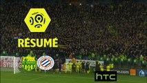 FC Nantes - Montpellier Hérault SC (1-0)  - Résumé - (FCN-MHSC) / 2016-17