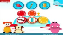 BabyTV Learning Games 4 kids - iOS Applications for Babies and Toddlers - The Three of a Kind Game