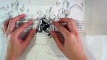 Animation en papier découpé « Assassin's Creed »