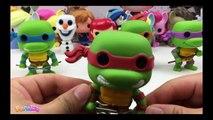 Pop Television Teenage Mutant Ninja Turtles Vinyl Figures - Funko Pop TMNT Collection new