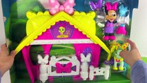 ❤ Disney MINNIE MOUSE TOY ❤ Jump N Style Pony Stable Fisher Price Juguetes D