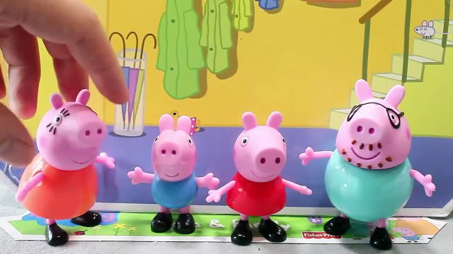 Mundial de Juguetes & Peppa pig and Family Toys Playset