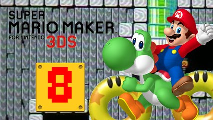 Lets Play - Super Mario Maker 3DS ONLINE [08] Bumper und Mario Mansion