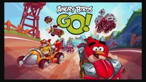 Angry Birds Go! Red Bird Terrence vs White Bird and Bad Piggies - Angry Birds Go Games