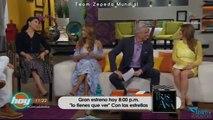 David Zepeda @davidzepeda1 y elenco de #TresVecesAna presentan su telenovela en HOY