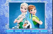 Frozen Anna Elsa Disney -Frozen Elsa Anna Olaf Fever videos Games for Kids