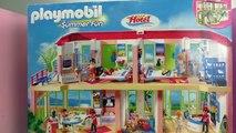 Hotel Playmobil français – Nous déballons le jeu Hotel de vacances Playmobil pour vous!