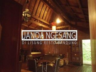 Janda Ngesang, Di Lisung Resto Bandung