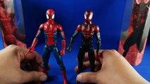 Review Ultimate Spider Man Miles Morales Peter Parker Marvel Legends Series Space Venom BAF Revision Español