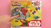 Play Doh Star Wars Faucon Millenium boîte de pâte à modeler - Unboxing