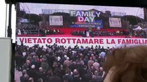 Giusy Damico al Family day 2016 circo massimo Roma