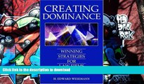 BEST PDF  Creating Dominance: Winning Strategies for Law Firms [DOWNLOAD] ONLINE