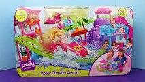 Polly Pocket Roller Coaster Resort DisneyCarToys & Disney Frozen Elsa and Anna A