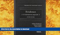 BEST PDF  Evidence: A Contemporary Approach, 2nd Edition (Interactive Casebook) (Interactive